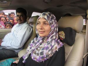 साहाबुद्दीन की पत्नि